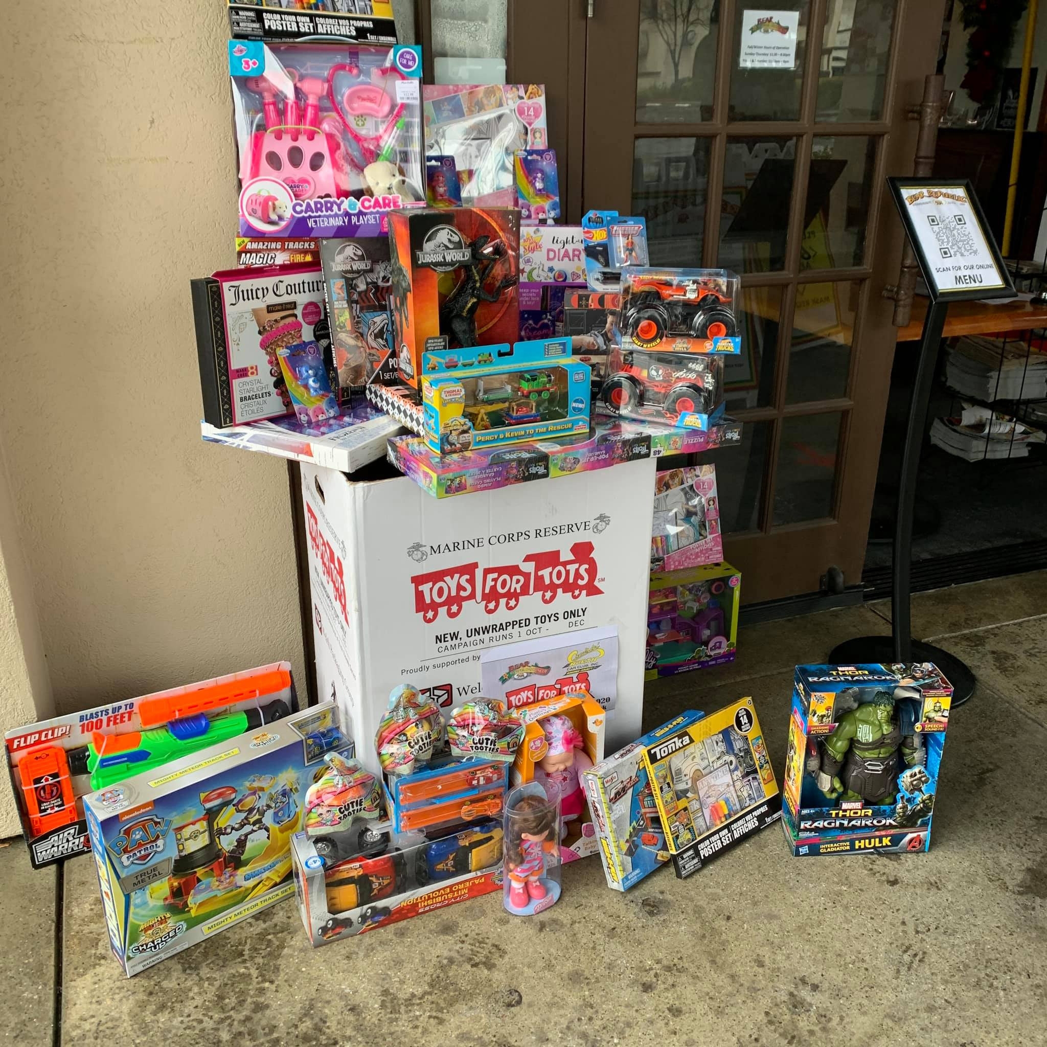 Cruisin' North Toys 4 Tots Pictures December 2020
